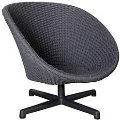 Peacock Outdoor Swivel Chair