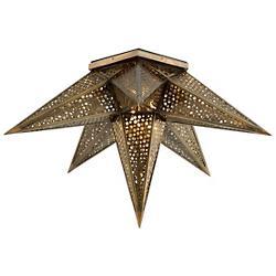Star Of The East 2-Light Semi-Flushmount