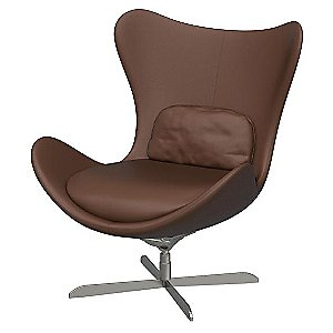 Lazy Swivel Armchair by Calligaris