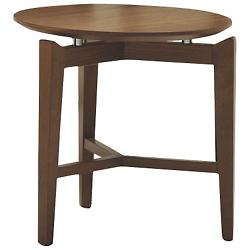 Symbol Round Side Table
