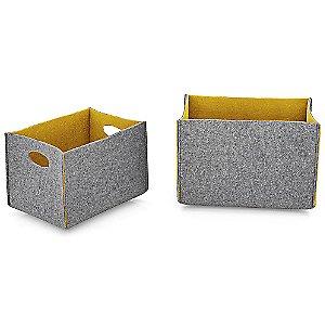 Dorian Storage Basket Set of 2 by Calligaris