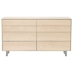 Canvas 8 Drawer Dresser - Metal Legs by Copeland Furniture