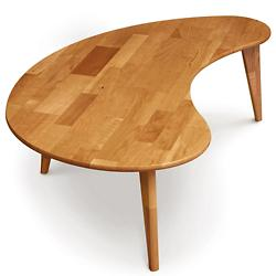 Essentials Kidney-Shaped Coffee Table