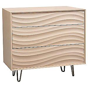 Wave 3 Drawer Dresser by Copeland Furniture