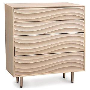 Wave 4 Drawer Dresser by Copeland Furniture