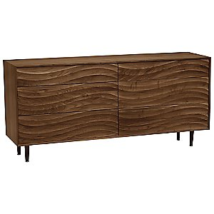 Wave 6 Drawer Dresser by Copeland Furniture