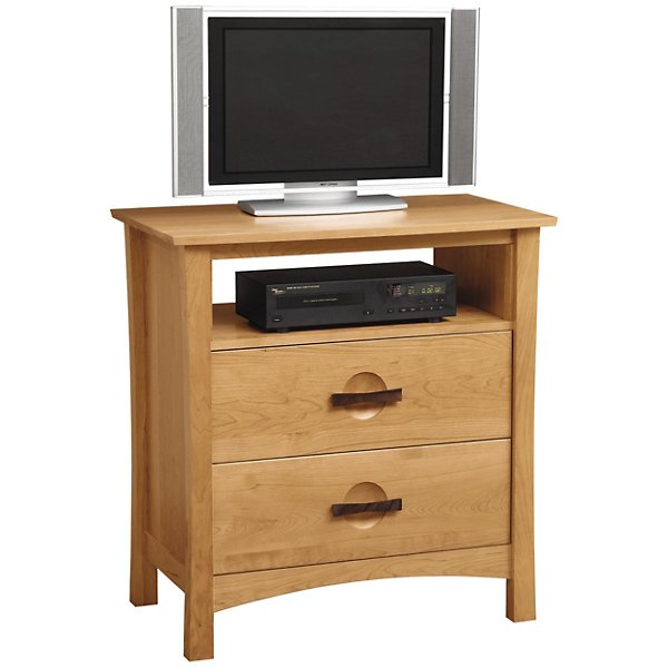 Copeland Furniture Berkeley 2 Drawer Dresser and TV Organizer - 2-BER-25-43