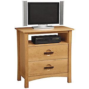 Berkeley 2 Drawer Dresser and TV Organizer by Copeland Furniture