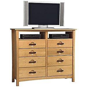 Berkeley 8 Drawer Dresser and TV Organizers by Copeland Furniture