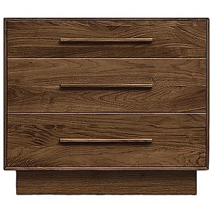 Moduluxe 29-Inch 3 Drawer Dresser by Copeland Furniture