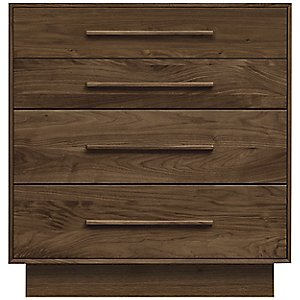 Moduluxe 35-Inch 4 Drawer Dresser by Copeland Furniture