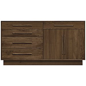 Moduluxe 35-Inch 4 Drawer/1 Drawer and 2 Door Sideboard by Copeland Furniture