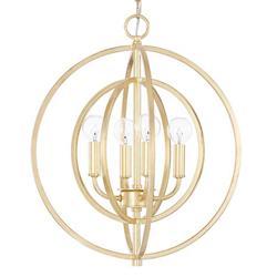 Capital Gold Pendant