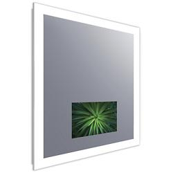 Silhouette Lighted Mirror with Television by Lumens