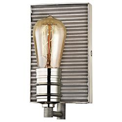 Corrugated Wall Sconce