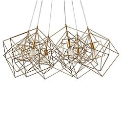 Box Cluster Chandelier