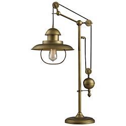 Farmhouse Adjustable Table Lamp