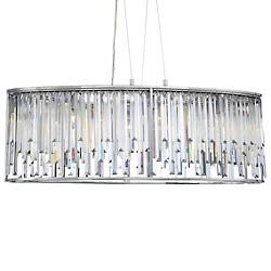 Genova Oval Linear Suspension