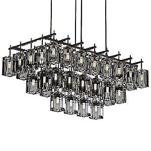 Monceau 3-Tier Linear Chandelier by Fine Art Lamps