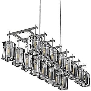Monceau Double Linear Chandelier by Fine Art Lamps