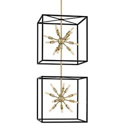 Aros 2-Tier Chandelier