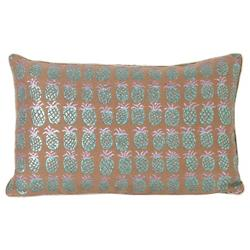 Salon Pineapple Lumbar Pillow