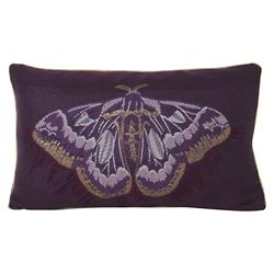 Salon Butterfly Lumbar Pillow