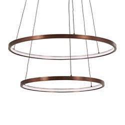 Full Orbit 2-Ring LED Pendant