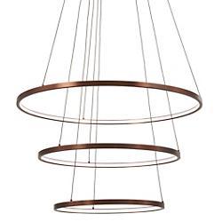Full Orbit 3-Ring LED Pendant