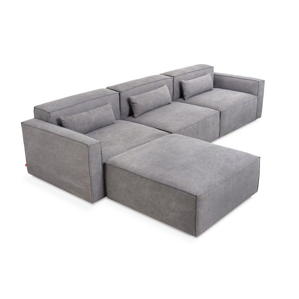 Swell Mix Modular 4 Piece Sectional Sofa By Gus Modern Xla Bershi Beatyapartments Chair Design Images Beatyapartmentscom