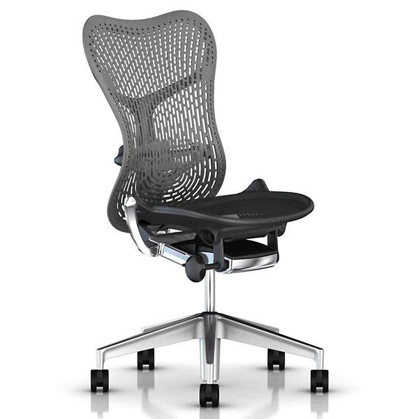Herman Miller Mirra 2 Office Chair Triflex Back Armless - MRF121NNAPN26KABB981A708 - Herman Miller Authorized Retailer