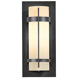 Banded Coastal Outdoor Wall Sconce