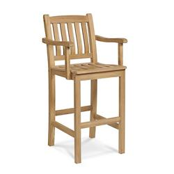 Oasis Outdoor Barstool With Arms
