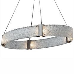 Parallel Oval LED Chandelier