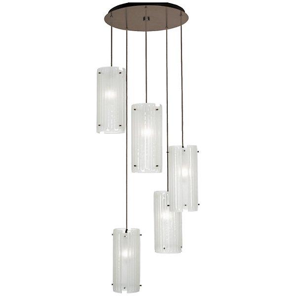 Hammerton Studio Textured Glass Round Multi Light Pendant Light Chb0044 03 Fb Iw C01 E2