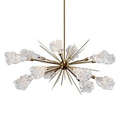 Blossom LED Oval Starburst Chandelier