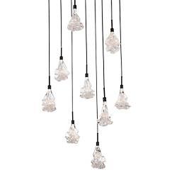 Blossom Square LED Multi-Light Pendant
