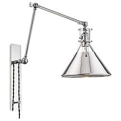 Metal No.2 Swing Arm Wall Sconce