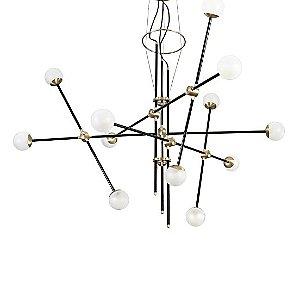Bullarum ST-12 Chandelier by Intueri Light