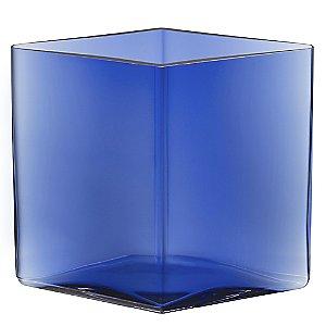 Ruutu Wide 7 Inch Vase by Iittala