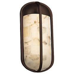 Alabaster Rocks! Starboard Outdoor Wall Sconce