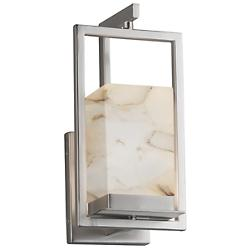Alabaster Rocks! Laguna LED Outdoor Wall Sconce
