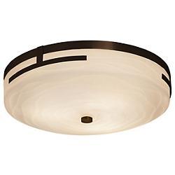 Porcelina Atlas LED Round Flushmount