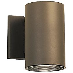 Outdoor 1-Light Cylinder Wall Sconce