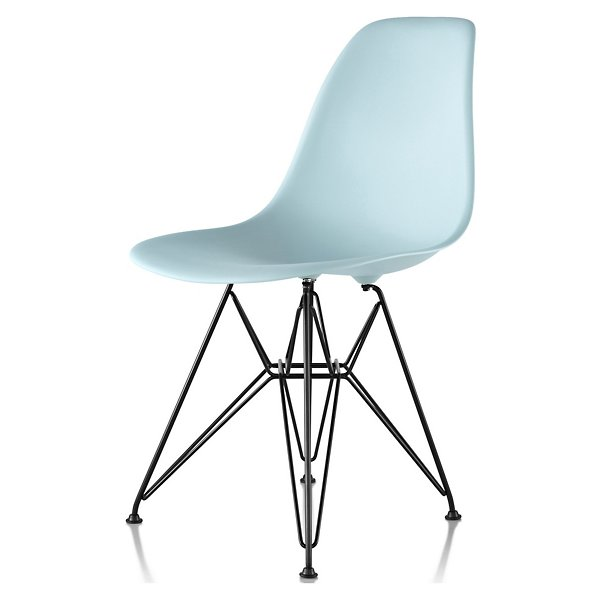 Herman Miller Eames Molded Plastic Side, Eames Side Chair Wire Base