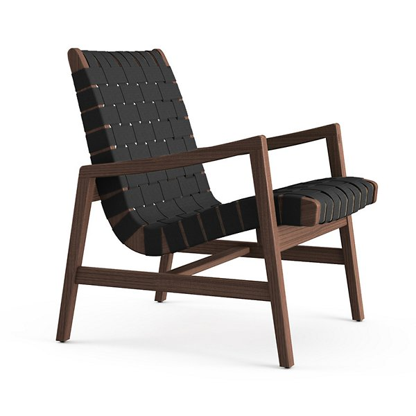 ARMCHAIR IN BLACK AND WOOD
