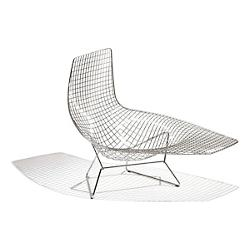 Bertoia Asymmetric Chaise, Unupholstered