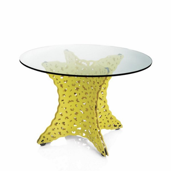 Knoll Topiary Dining Table with Tempered Glass Top - TG-42-TOP-28-O - Size: 42-In. Diameter - Knoll Authorized Retailer