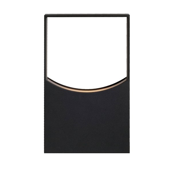 Zodiac LED Outdoor Wall Sconce by Kuzco Lighting EW6612 BK