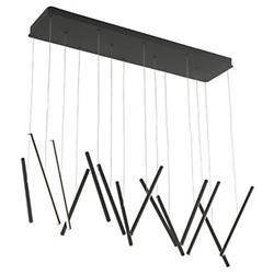 Chute LED 14-Light Linear Suspension